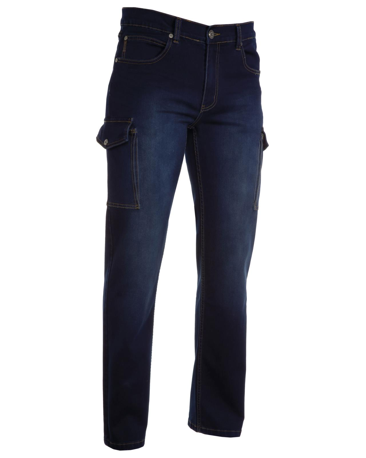 27c97c297d Jeans uomo con tasconi laterali HUMMER