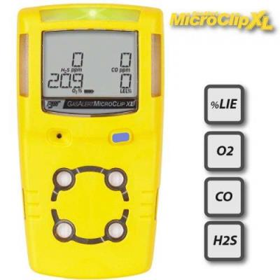 GasAlertMicroClip XL 4 Gas