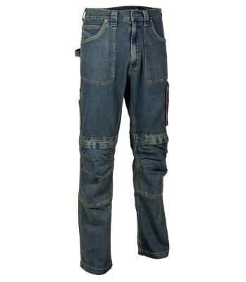 Pantalone di Jeans Lavoro Antifortunistica Cofra Biarritz