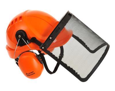 Portwest Endurance CARBON LOOK di protezione casco sicurezza elmetto Headwear PC55